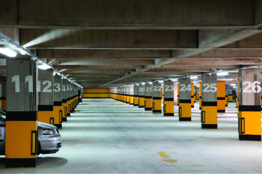 LPG araç ve park